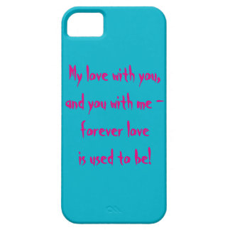 About Love iPhone 5 Cases
