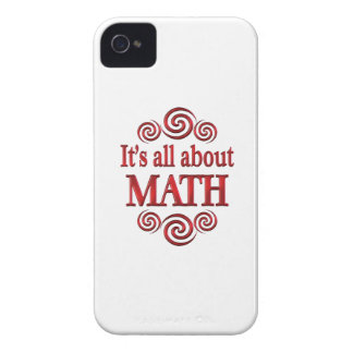 About Math iPhone4 Case