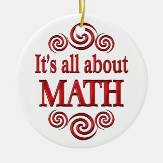 About Math Ornaments