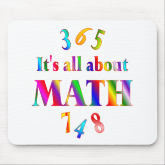 About Math Mouse Mat