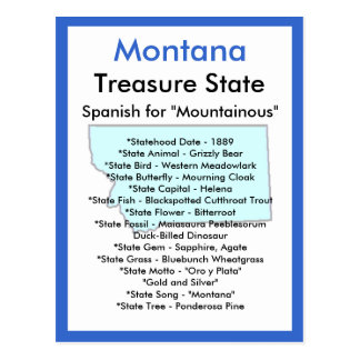 About Montana Postcard