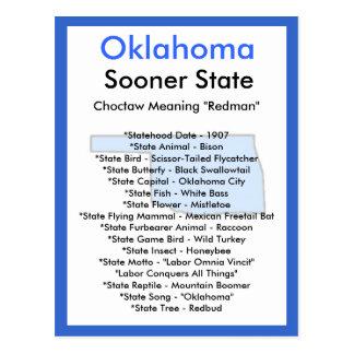 About Oklahoma Postcard
