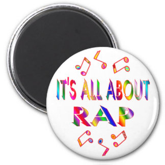 About Rap Refrigerator Magnets