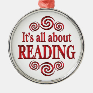 About Reading Christmas Ornament