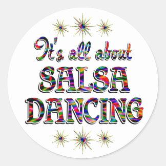 About Salsa Sticker