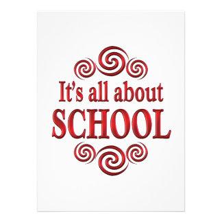 About School Custom Invite