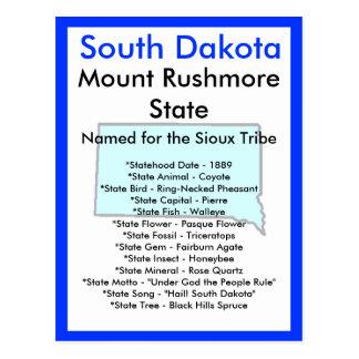 About South Dakota Postcard