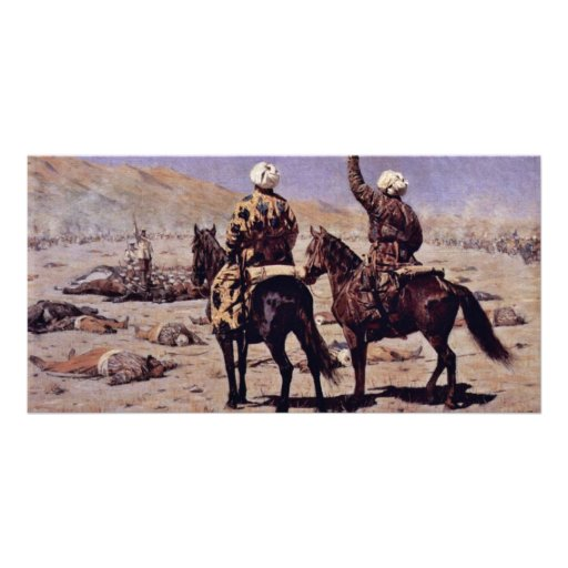 About The War By Wereschtschagin Wassilij Wassilje Custom Photo Card