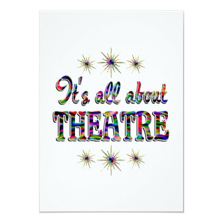 About Theatre Card