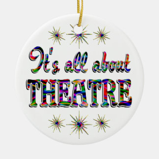 About Theatre Christmas Ornament