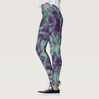 """Above all else, guard your heart..."" leggings"