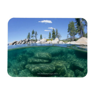 Above and below Lake Tahoe Magnets