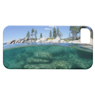 Above and below Lake Tahoe iPhone 5 Cases