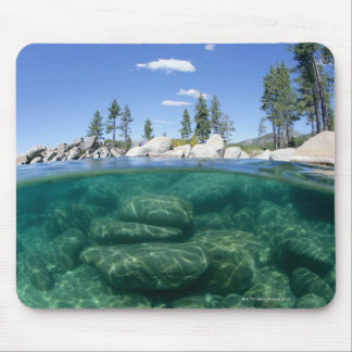 Above and below Lake Tahoe Mouse Mat