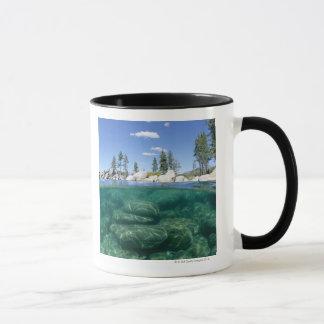 Above and below Lake Tahoe Mug