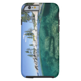 Above and below Lake Tahoe Tough iPhone 6 Case