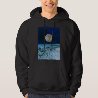 Above Earths Atmosphere Hooded Pullovers