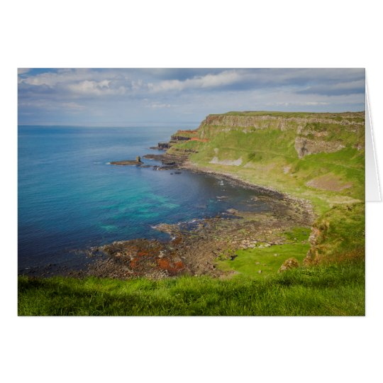 Above Giant's Causeway Card