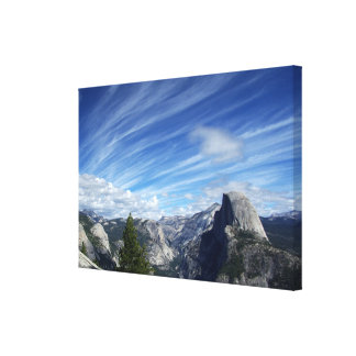 Above Half Dome Canvas Print
