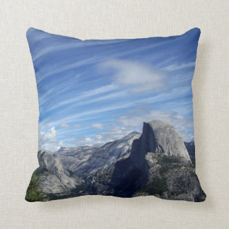 Above Half Dome Throw Pillow
