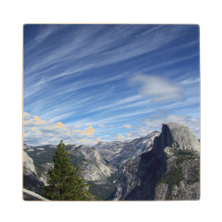 Above Half Dome Wood Coaster