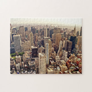Above New York City Jigsaw Puzzle