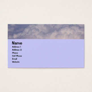 above the clouds 1 business card
