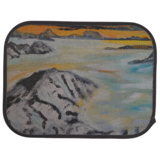 Above the clouds car mat