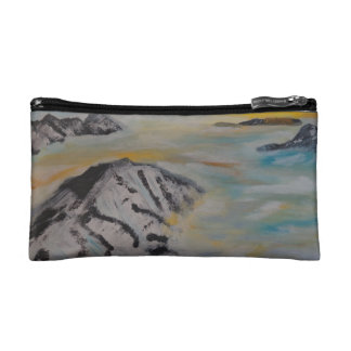 Above the clouds cosmetic bag