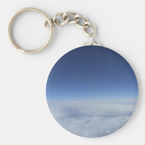 Above the Clouds Keychains