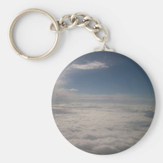 Above the Clouds Key Chain