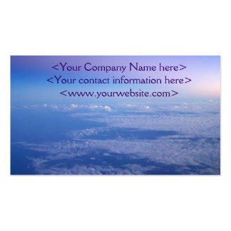 Above the Clouds Pack Of Standard Business Cards