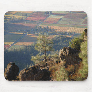 Above the Napa Valley mousepad