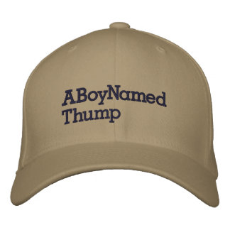 ABoyNamedThump Embroidered Cap
