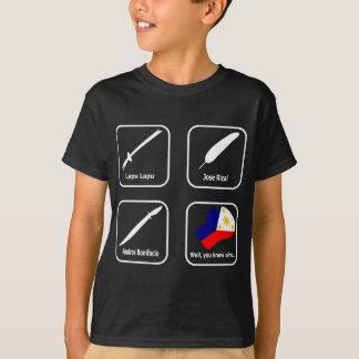 ABPinoy_heroic symbols dark T-Shirt