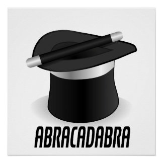 Abracadabra Magic Top Hat