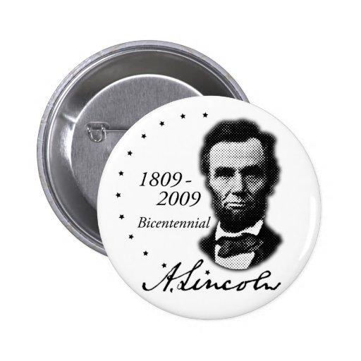 Abraham (Abe) Lincoln Bicentennial Buttons