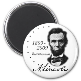 Abraham (Abe) Lincoln Bicentennial Magnet