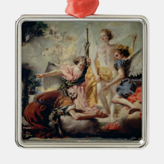Abraham and the Three Angels Christmas Ornament