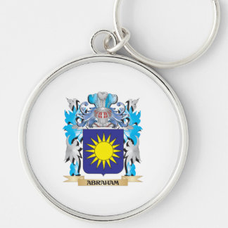 Abraham Coat Of Arms Key Chain