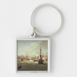 Abraham Duquesne  at Chios, after 1681 Keychain