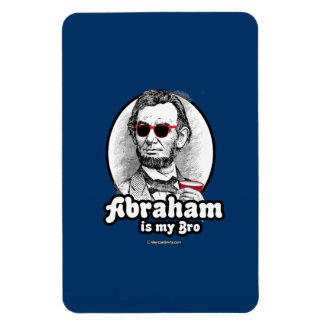 Abraham is my Bro -.png Rectangular Photo Magnet