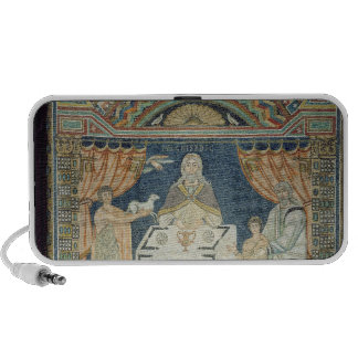 Abraham, Isaac and Melchisedech Notebook Speakers
