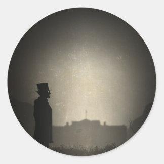 Abraham Limbo Classic Round Sticker
