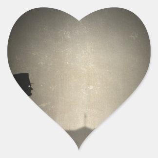 Abraham Limbo Heart Sticker