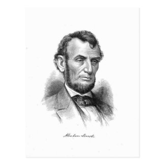 Abraham Lincoln 10 Postcard