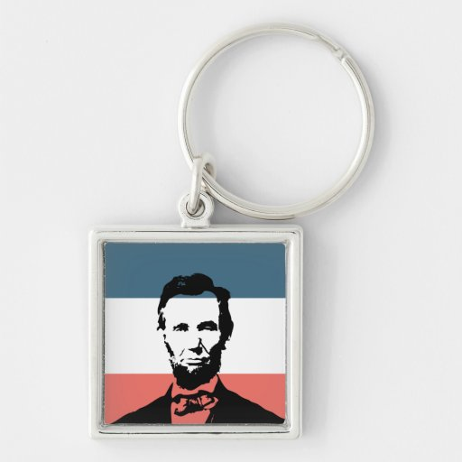 Abraham Lincoln 16th President Keychain