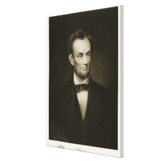 Abraham Lincoln, 16th President of the United Stat Canvas Print