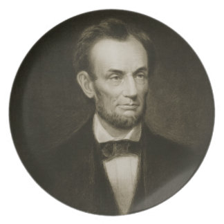 Abraham Lincoln, 16th President of the United Stat Plate