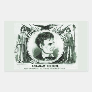 Abraham Lincoln 1860 Election Sticker